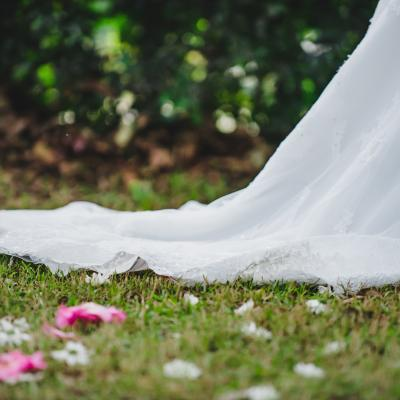 Bride veil